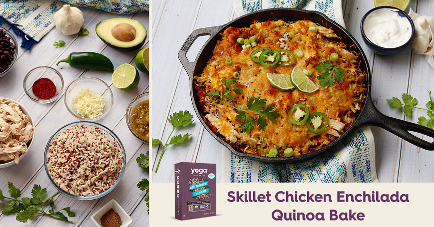 2. Facebook_Skillet Enchilada Quinoa Bake (light brown Rice title)